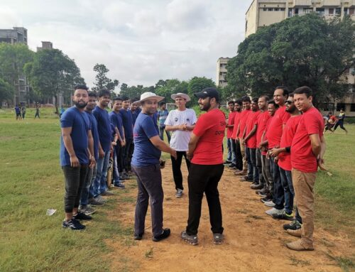 Friendly Cricket Match – Memory